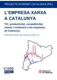 L'empresa xarxa a Catalunya: TIC, productivitat, competitivitat ...