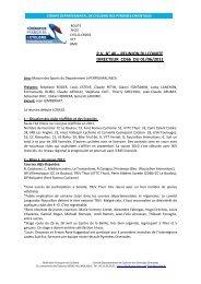 P.V. N° 40 – REUNION DU COMITE DIRECTEUR CD66 ... - Quomodo