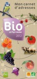 Carnet d'adresse BIO en Pays Catalan - Bio66
