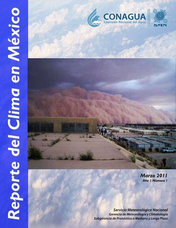 Portada 110411 - Servicio Meteorológico Nacional - Conagua