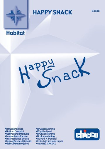 Happy Snack Chicco