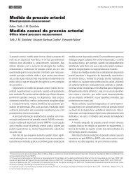 Medida da pressão arterial Medida casual da pressão arterial