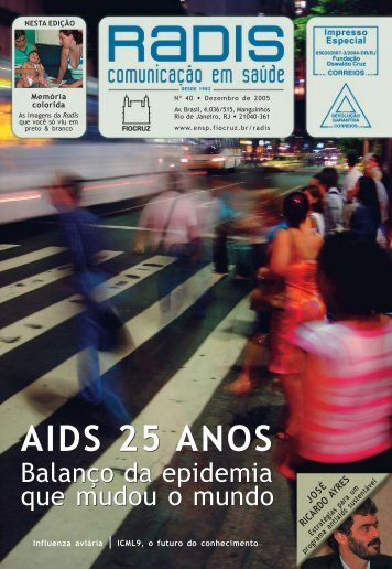 AIDS 25 ANOS AIDS 25 ANOS - Portal ENSP - Fiocruz
