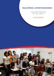 Relatório +Oportunidades Fev-Abr 2011 - + Unidos