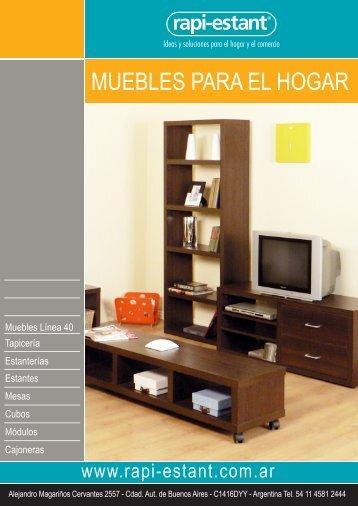 Catálogo Muebles rapi-estant