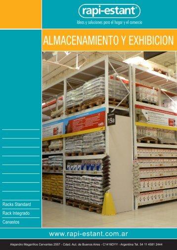 Catálogo Almacenamiento - Rapi-Estant