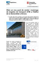 Nota CAC-OAC - Premsa - Generalitat de Catalunya