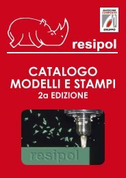 CATALOGO MODELLI E STAMPI - Resipol