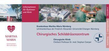 2010 Chirurgisches Schilddruesenzentrum.indd - <b>Martha-Maria</b> - 2010-chirurgisches-schilddruesenzentrumindd-martha-maria