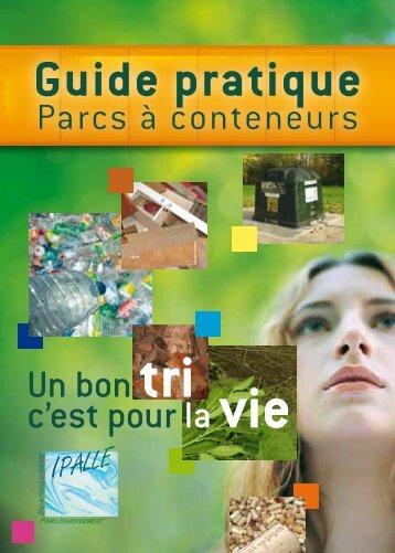 Guide pratique des parcs à conteneurs - Ipalle