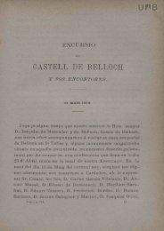 CASTELL DE BELLOCII