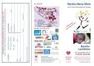 Informationen zur Martha-Maria-Meile 2012