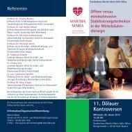 11. Dölauer Kontroversen - Martha-Maria