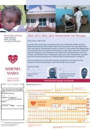 Entwurf4 Spendenflyer Mosambik.indd - Martha-Maria