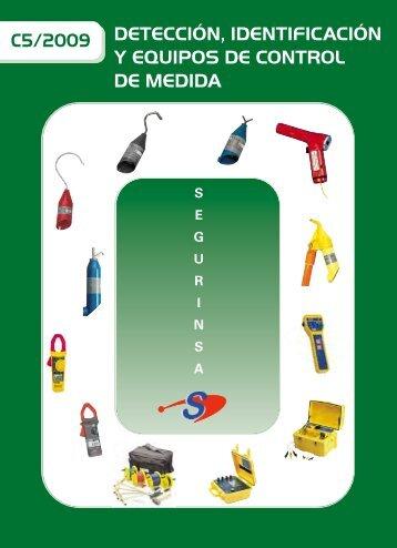 Detección, identificación y equipos de control de Medida