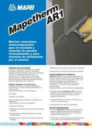 Mapetherm AR1 Mapetherm AR1 - Mapei