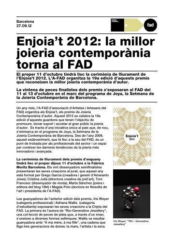 NP Enjoia't 2012 - FAD