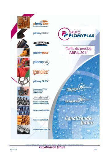 Tubos PVC-U - Plomyplas