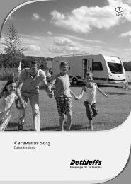 Datos técnicos Caravanas 2013 - Dethleffs