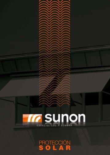 Descargar catálogo de protección solar - Sunon