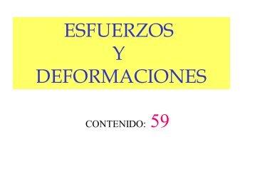 ESFUERZOS Y DEFORMACIONES - IES Ramon Llull