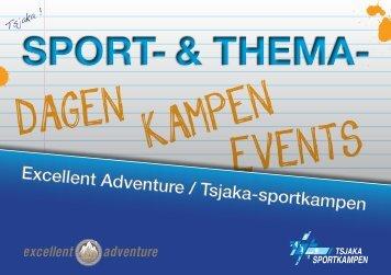 SPORT- & THEMA- - Tsjaka sportkampen