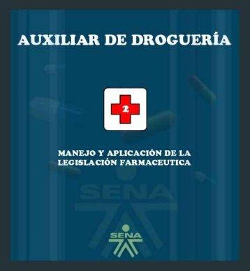 Manejo y aplicación de la legislación farmaceutica - Biblioteca Sena