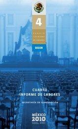 0 cuarto informe de labores - Secretaría de Gobernación