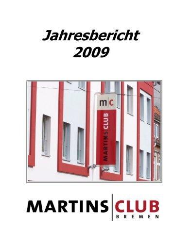 Jahresbericht 2009 Entfassung 10-08-06 - Martinsclub Bremen e.V.