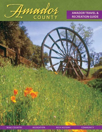 Amador County Travel Planner - Amador Council of Tourism