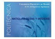 ANTIGUAS PESAS Y MEDIDAS - OCW UPM