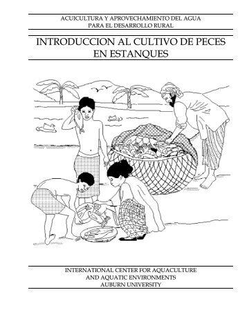 INTRODUCCION AL CULTIVO DE PECES EN ESTANQUES