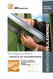Montagevejledning - DS Stålprofil