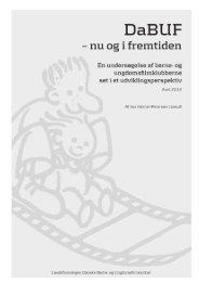 DaBUF - Nu og i fremtiden / Evalueringsrapport 2012