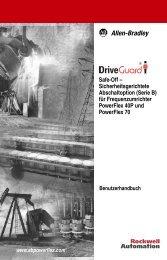 Safe-Off – Sicherheitsgerichtete Abschaltoption (Serie B) für ...