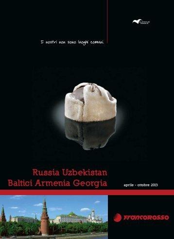 Russia Uzbekistan - Agenzia Viaggi Arcatours