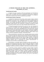 O MERCADO BRASILEIRO DE PNEUS PARA ... - BrasilGlobalNet