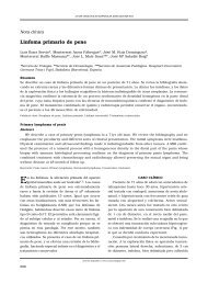 Linfoma primario de pene - SciELO España