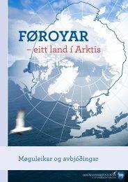– eitt land í Arktis - Løgmansskrivstovan