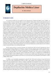 Capítulo 6: Depilación Médica Láser - Centro Medico Laser Vigo