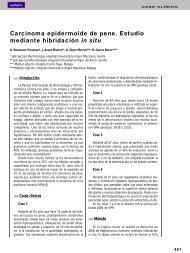 Carcinoma epidermoide de pene. Estudio mediante hibridación in situ