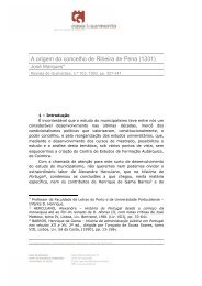 A origem do concelho de Ribeira de Pena (1331) - Casa de Sarmento