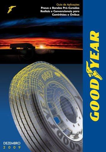 Catálogo de Caminhões e Ônibus. - Goodyear