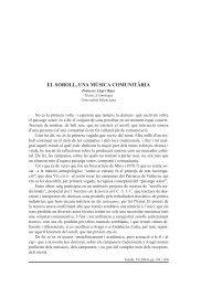 EL SOROLL, UNA MÚSICA COMUNITÀRIA - Roderic
