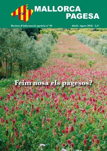 MALLORCA PAGESA - Unió de pagesos de Mallorca