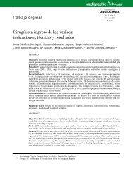 Cirugía sin ingreso de las várices: indicaciones, técnicas y resultados