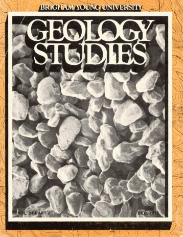 Brigham Young University Geology Studies
