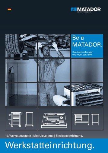 10. Werkstatteinrichtung - Matador