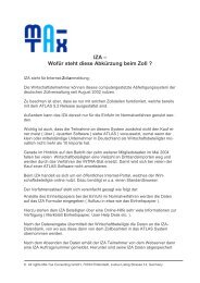 IZA - Ma-Tax Consulting GmbH