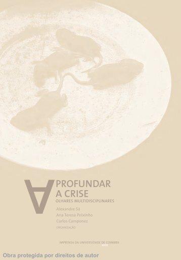 PROFUNDAR A CRISE - Universidade de Coimbra